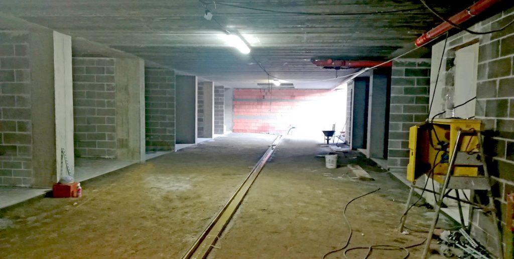 Completamento pavimentazioni autorimesse - Dicembre 2019